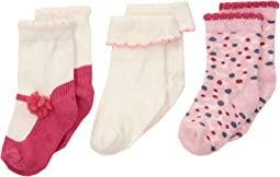 Kate Spade New York Kids - 3-Pack Sock Set (Infant)