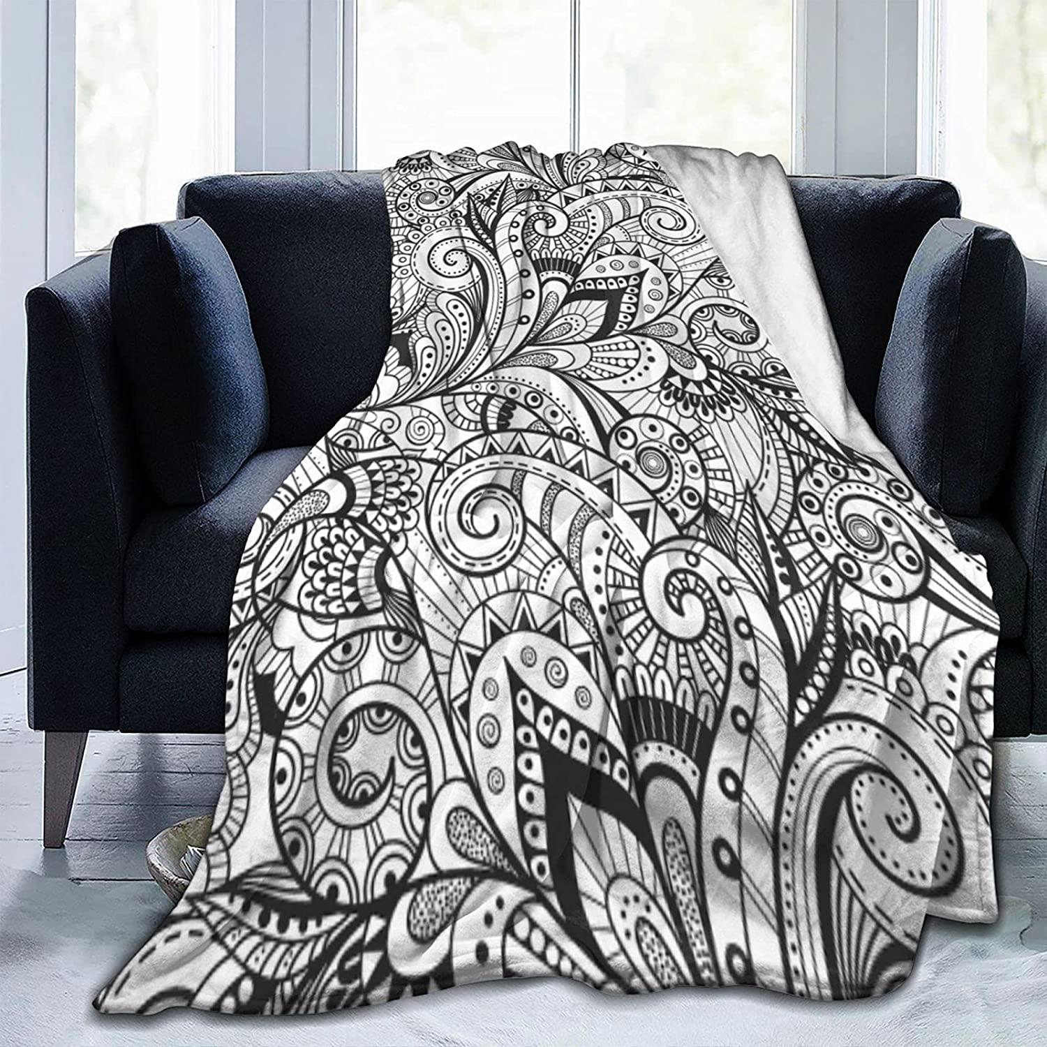 50x60 inch Mandala Blanket Fixed price for sale Warm Multicolor Thro Bedsure Max 54% OFF Blankets