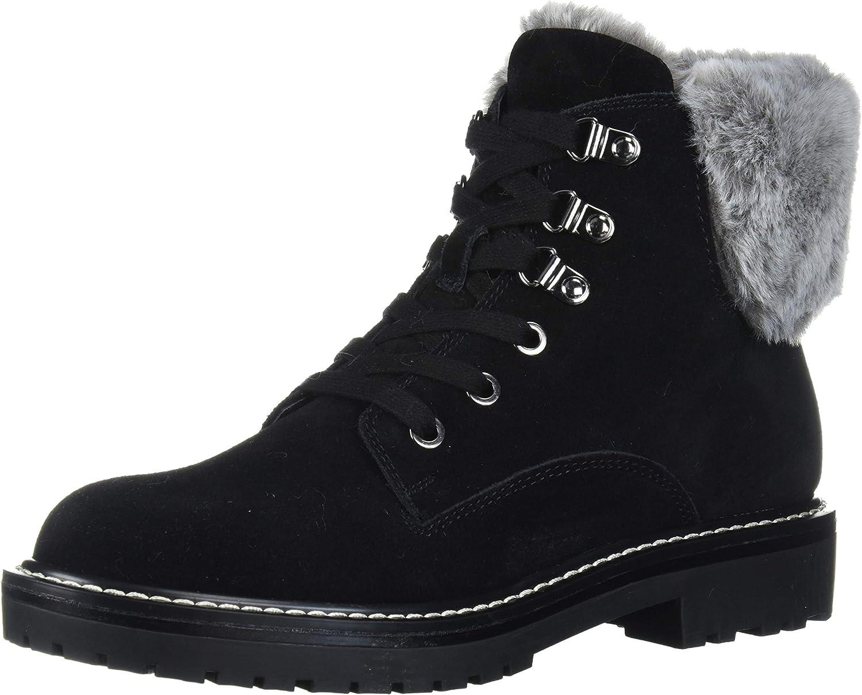 Bandolino Footwear Women's Lauria Hiking Boot, Black, 7 M US