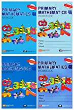 Singapore Primary Mathematics Grade 4 Kit (4 Books) - Textbooks 4A and 4B, Workbooks 4A and 4B (US Edition)