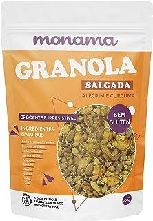 Monama Granola Salgada, Alecrim e Cúrcuma sem Glúten 200g