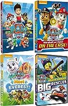 Paw Patrol Fun Family Adventures 4 DVD Collection Set