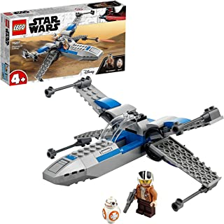 LEGO 75297 Star Wars Resistance X-Wing Starfighter Toy for Toddlers 4 + Years Old with Poe Dameron Minifigure and BB-8 Droid