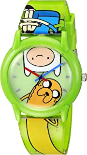 Adventure Time Kids' ATW001-GR Finn Jake Watch