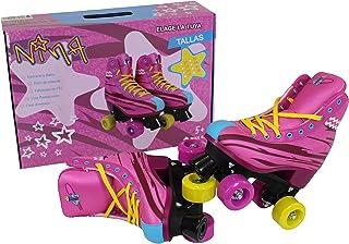 Amazon.es: patines rosas