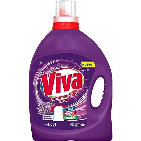 Viva Quitamanchas Total Lavanda, Detergente líquido 4.65 L