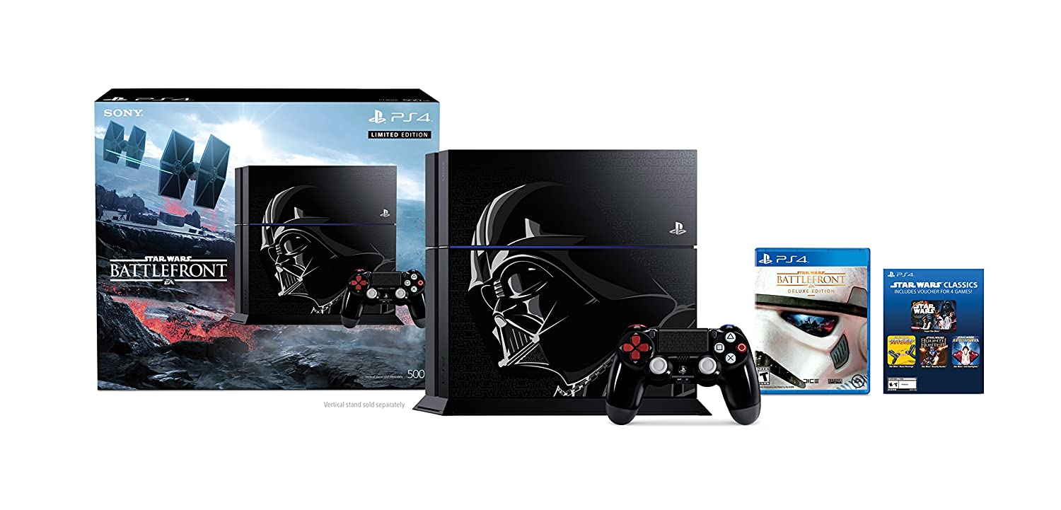 PlayStation 4 500GB Console - Edit Max 50% OFF Battlefront Limited Star Wars Minneapolis Mall