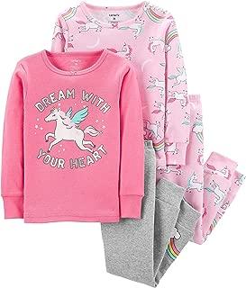 Carter's Girls' 12M-12 4-Piece Tutu Cute to Sleep Pajama Set