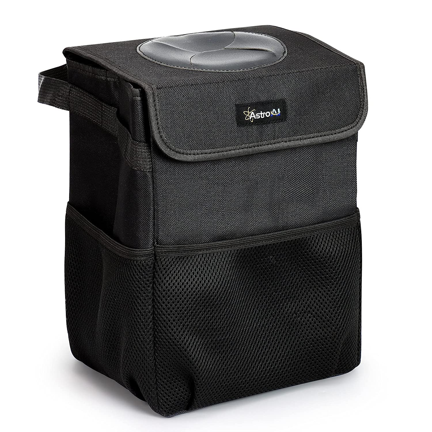 AstroAI Car unisex Trash Can with Lid and Storage Leak-Proof Pockets Wa Max 46% OFF