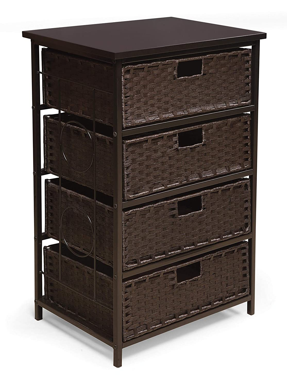 August Complete Free Shipping Collection Tall Four Ranking TOP18 Drawer Storage Basket Unit