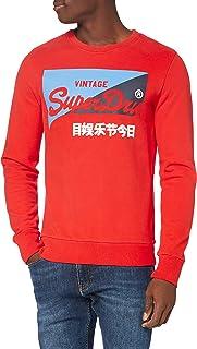 Superdry Men's Vl O Primary Crew Sweater