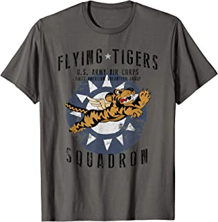 Flying Tiger's WWII Insignia Vintage WW2 Air Corps T-Shirt