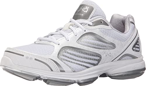 RYKA Wohommes Devotion Plus en marchant chaussures, blanc Chrome argent Frosted Almond, 8 W US