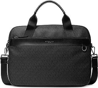 Michael Kors Mens Jet Set Slim Briefcase Black