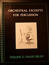 Orchestral Excerpts for Percussion: Snare Drum v. 2