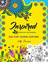 Inspired: Peace in the Garden (Bible Study, Coloring, Devotional) (Volume 1)
