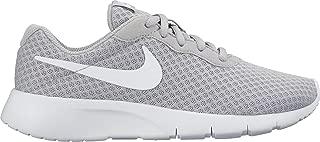 Nike Australia Tanjun Boys Trainers, Wolf Grey/White-White