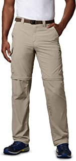 Columbia Men's Silver Ridge Convertible Pant, Fossil, 32 X 36