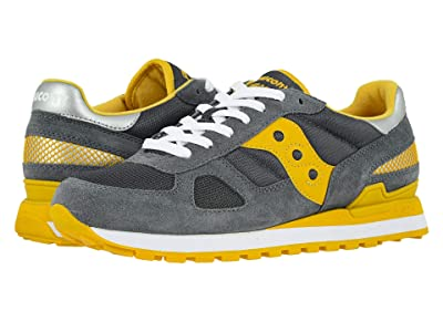 Saucony Originals Shadow Original (Castlerock/Yellow) Men