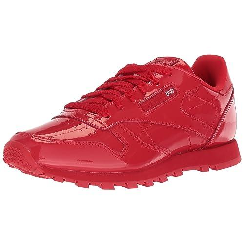 45b2db66481d2 Reebok Kids  Classic Leather Patent Cross Trainer
