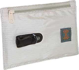Smooth Trip RFID Blocking Security Belt Wallet Pouch, Natural