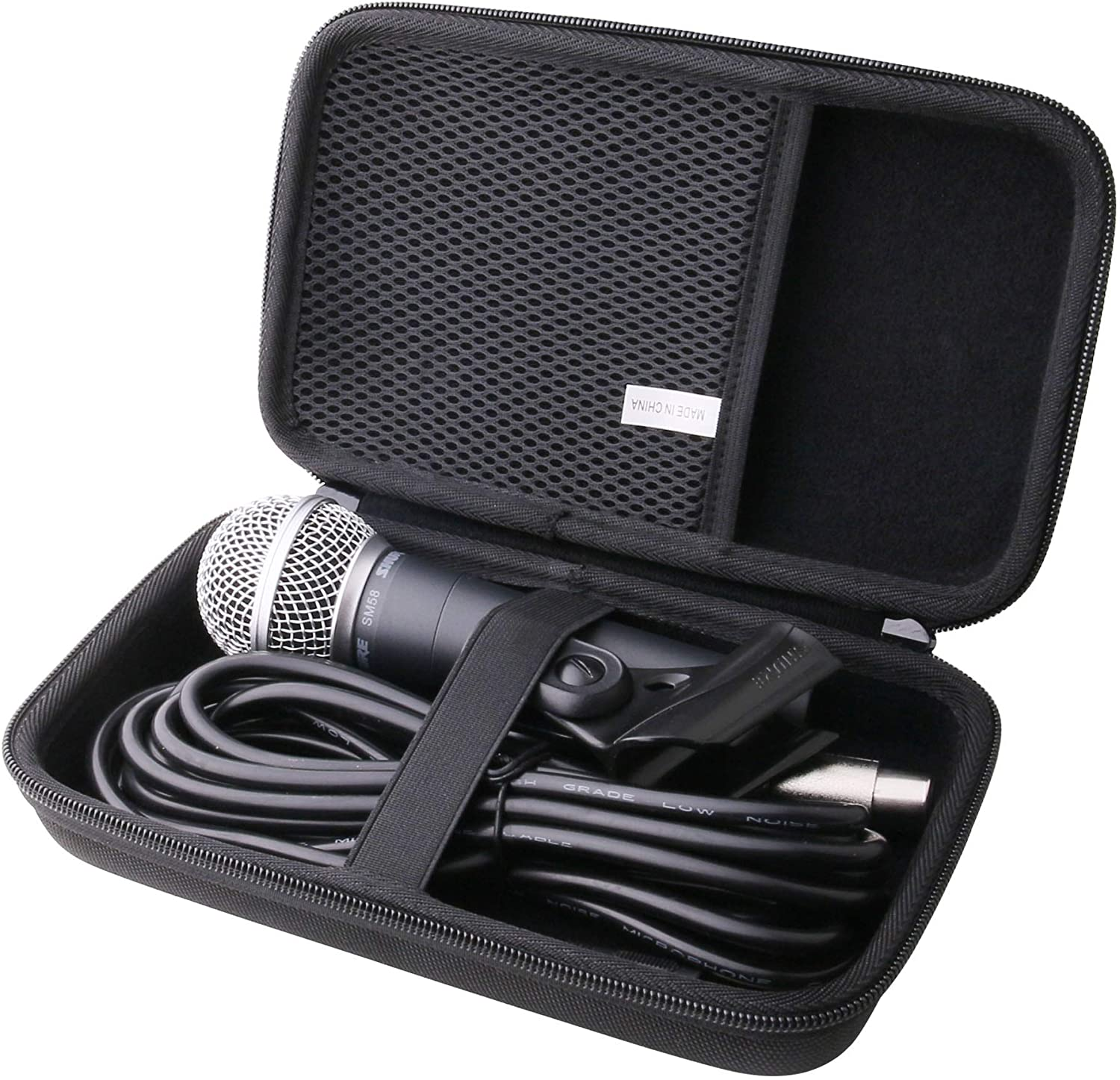 waiyu Hard EVA Carrying Case for Shure Voc Cardioid Year-end Branded goods annual account Dynamic SM58