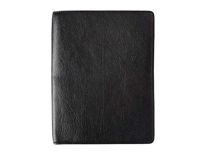 Bosca  Napoli Nappa Journal Large (Black) Wallet