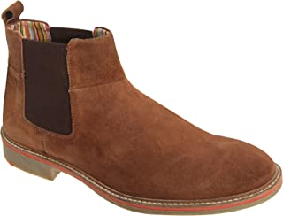 Mens Casual Gusset Boots