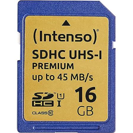 Intenso Sdhc Uhs I 16gb Class 10 Speicherkarte Blau Computer Zubehör