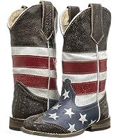 American Flag Square Toe Boot (Toddler/Little Kid)