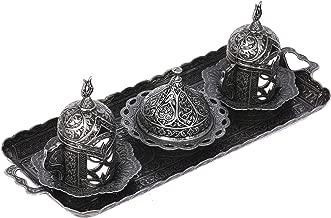 lat/ón mano molido Estambul Viajes Senderismo herramientas port/átil Manual compacto Molinillo de caf/é 10,25/cm molinillos turco