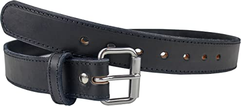 The Ultimate Steel Core Gun Belt | Concealed Carry CCW Leather Gun Belt with Steel Insert | Made in The USA | The Toughest 1 1/2 inch Premium Heavy Duty Leather Gun Belt
