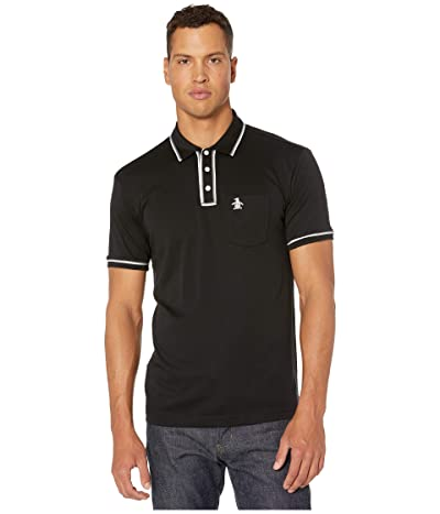 Original Penguin The Earl 3D Polo (True Black) Men