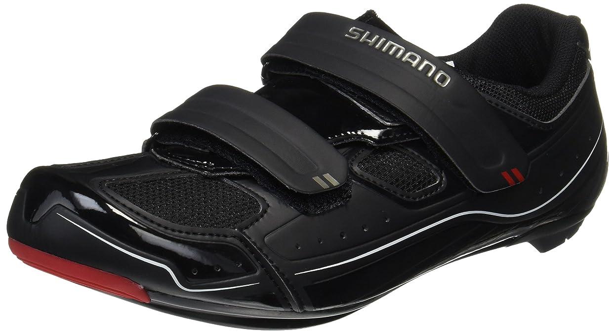慣性鳴らすヒョウシマノ ビンディングシューズ SPD-SL SH-R065 41(25.8cm) ブラック ESHR065G410L