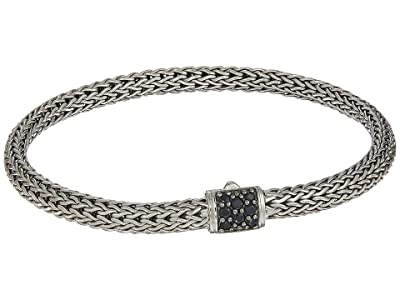 John Hardy Classic Chain 5mm Bracelet with Black Sapphire (Silver) Bracelet