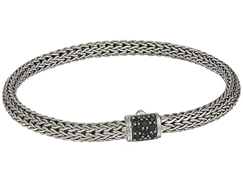 John Hardy Classic Chain 5mm Bracelet with Black Sapphire