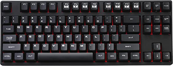 CM Storm QuickFire Rapid - Tenkeyless Mechanical Gaming Keyboard with CHERRY MX Red Switches