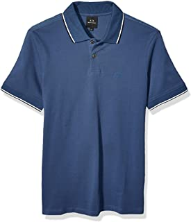 A|X Armani Exchange mens Short Sleeve Polo Shirt Polo Shirt