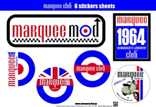 Marquee Club 6 sticker sheets/Type-B