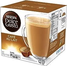 NESCAFÉ Dolce Gusto Coffee Capsules Café Au Lait, 7.9 Ounce, Pack of 3