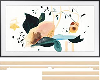 "Samsung QN65LS03TA 65"" The Frame 4K Ultra High Definition Smart QLED TV with a Samsung VG-SCFT65BE 65"" Beige Customization Bezel for The Frame TV (2020)"