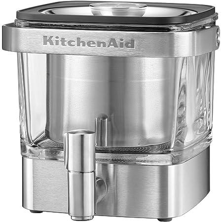 KitchenAid kcm4212sx Cold Brew Coffee Maker、つや消しステンレススチール