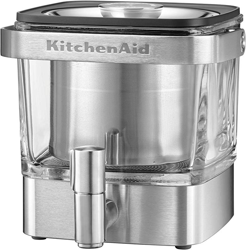 KitchenAid KCM4212SX Cold Brew Coffee Maker Brushed Stainless Steel 28 Ounce