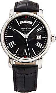 Montblanc 4810 Automatic Black Dial Black Leather Men's Watch 115936