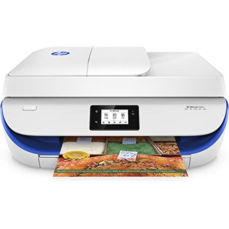 "HP 4650 OfficeJet Wireless All-in-One Photo Printer with Mobile Printing Instant Ink Ready 2.2"" Blue"
