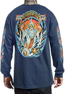 Sullen Men's Wizaard Long Sleeve T Shirt x Nine Iron