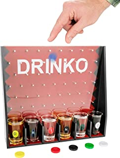 DRINKO Drinking Game - Fairly Odd Novelties - Fun Social Shot Glass Party Game for Groups / Couples