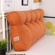 Feelme Large Rectangular Headboard, Support Pillow Rectangular Reading Lumbar Support Cushion, Three-Dimensional Cotton Pa...