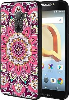 Harryshell for T-Mobile REVVL/Alcatel A30 Fierce 2017 (MetroPCS) / Alcatel A30 Plus (Amazon) / Alcatel Walters Lightweight Slim Thin TPU Gel Skin Flexible Soft Rubber Protective Case Cover (A-3)