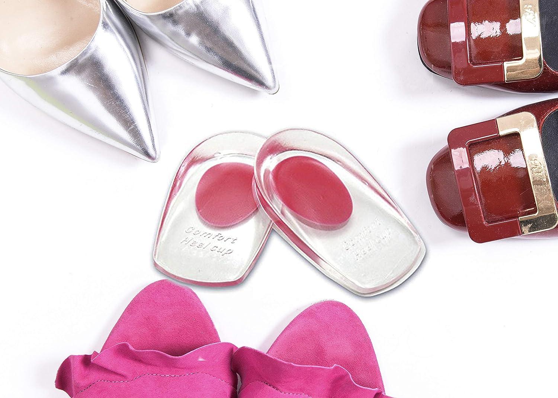 VivoFoot Gel Heel SALENEW very popular! Cups Shoe Austin Mall for Plantar Inserts Fasciitis